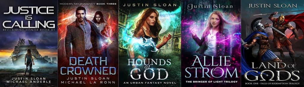 Author Justin Sloan