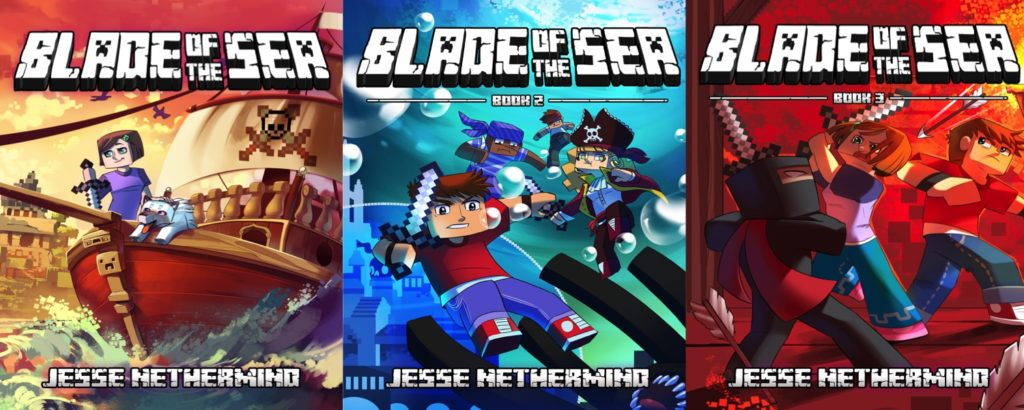 unofficial minecraft novel Blade of the Sea