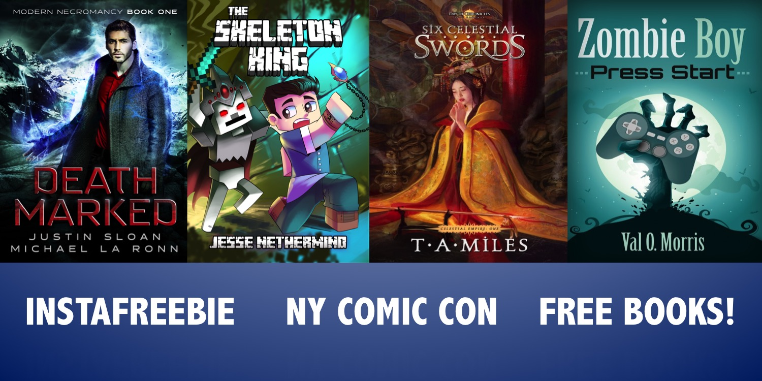 New York Comic Con Instafreebie Promo