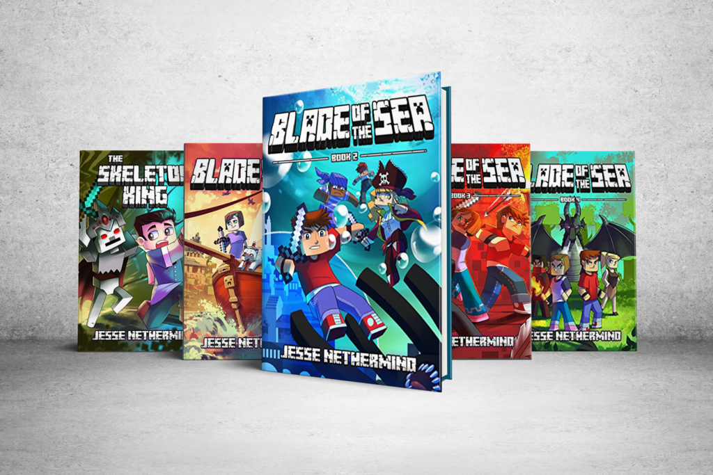 Blade of the Sea - Minecraft Books