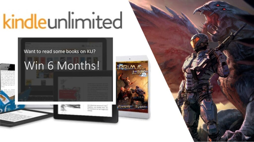 Enter to win a Kindle Unlimited membership