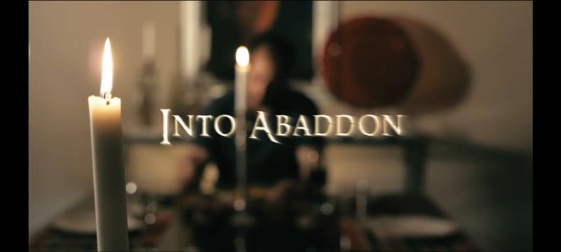 Into Abaddon Title